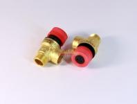Предохранительный клапан 3 бара с резьбой ½ (внутр./наруж. )